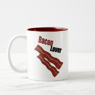 Bacon Lover Two-Tone Mug