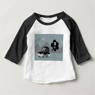 BAD BLACK CAR SIMPLE KIDS ART ILLUSTRATION BABY T-Shirt