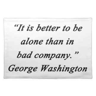 Bad Company - George Washington Placemat