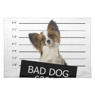 Bad dog placemat