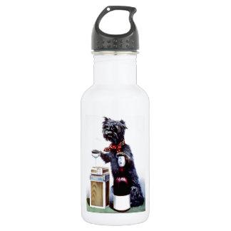 Bad Dog Vintage poster 532 Ml Water Bottle