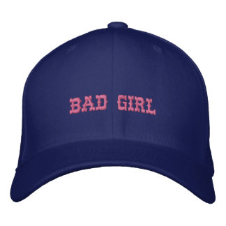BAD GIRL EMBROIDERED HAT