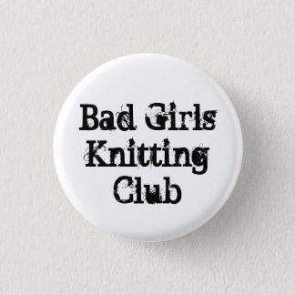Bad Girls Knitting Club 3 Cm Round Badge