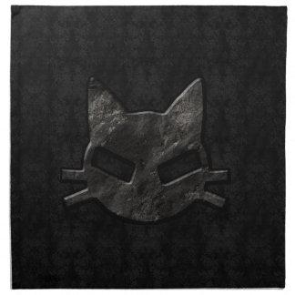 Bad Kitty Black Gothic Napkins