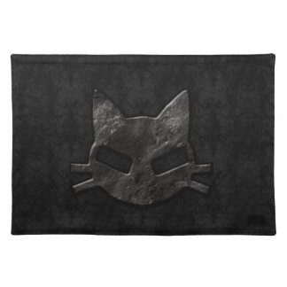 Bad Kitty Black Gothic Placemat