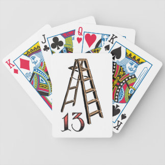 Bad Luck Bicycle Playing Cards