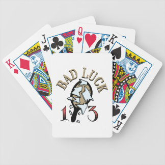 Bad Luck Mirror Bicycle Playing Cards