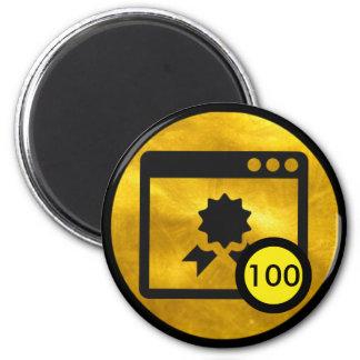 Badge Magnet - 100 Quality