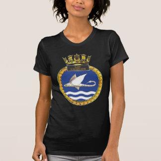 Badge of HMS Gay Charger Tee Shirts