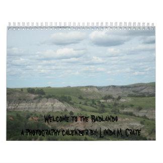 Badlands Calender Calendars
