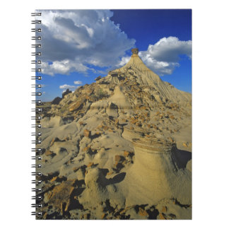 Badlands formations at Dinosaur Provincial Park 5 Notebook