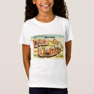 Badlands North Dakota ND Vintage Travel Souvenir T-Shirt