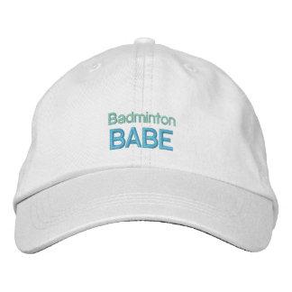 BADMINTON BABE cap