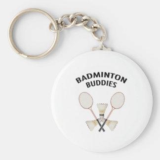 Badminton Buddies Key Ring