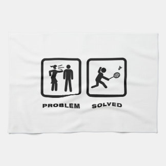 Badminton Tea Towel