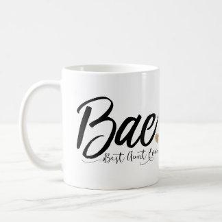 Bae Best Aunt Ever Coffee Mug