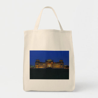 Bag Berlin Reichstag in the evening