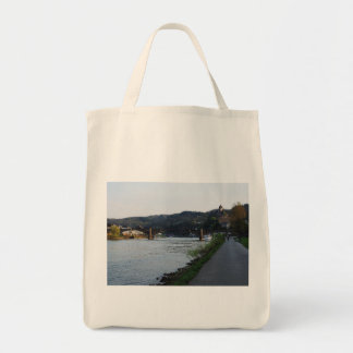 Bag Cochem Moselle bank in the evening