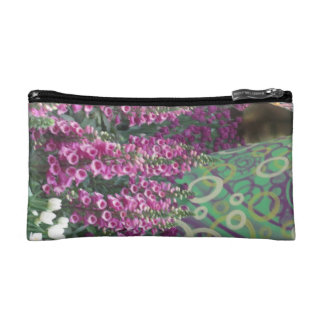 Bag for emergency touch-up basics LADY BUG FLOWERS Cosmetic Bags