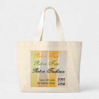 Bag Template Retro Fashion