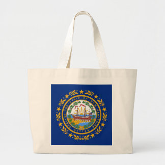 Bag with Flag of New Hampshire State - USA