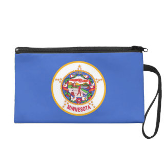 Bagettes Bag with Flag of Minnesota, U.S.A.