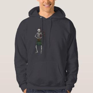 Bagpiper Skeleton Hoodie