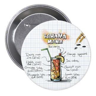 Bahama Mama 7.5 Cm Round Badge