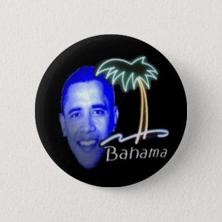 Bahama Obama 6 Cm Round Badge