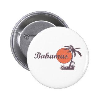 Bahama Worn 6 Cm Round Badge