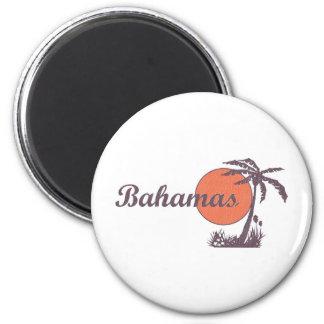 Bahama Worn 6 Cm Round Magnet