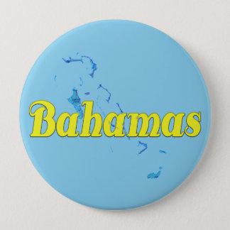 Bahamas 10 Cm Round Badge