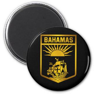 Bahamas Emblem 6 Cm Round Magnet