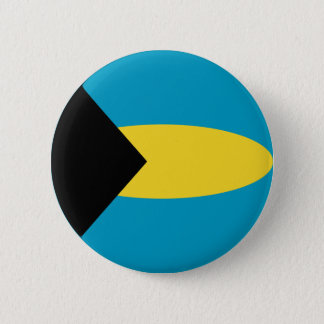 Bahamas Fisheye Flag Button