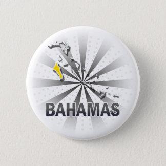 Bahamas Flag Map 2.0 6 Cm Round Badge