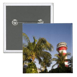 Bahamas, Grand Bahama Island, Freeport, Setting 15 Cm Square Badge