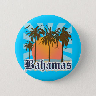 Bahamas Islands Beaches 6 Cm Round Badge