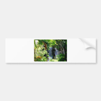 Bahamas Waterfall Bumper Sticker