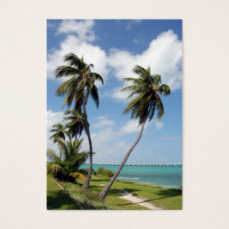 bahia honda state park and seven mile bridge business card