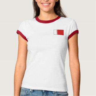 Bahrain Flag + Map T-Shirt