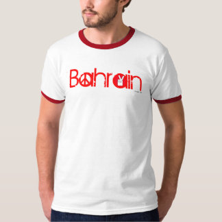 Bahrain For Peace T-Shirt Red