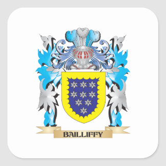 Bailliffy Coat of Arms Stickers