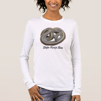Baja Rosy Boa Ladies Long Sleeve (Fitted) Long Sleeve T-Shirt
