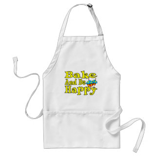 Bake And Be Happy Standard Apron