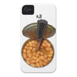 Baked Beans in Tin Can with Spoon Case-Mate iPhone 4 Case