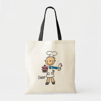 Baker With Cake Tote Bag