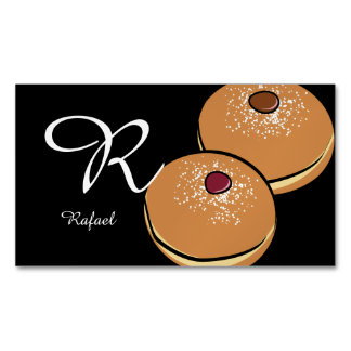 bakery chef cook kitchen restaurant cafe sweets magnetic business card