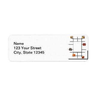 Bakery Divergence Return Address Label