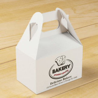 Bakery Favour Boxes