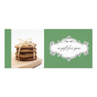 Bakery or Cookie Business Gift Certificates Custom Rack Card